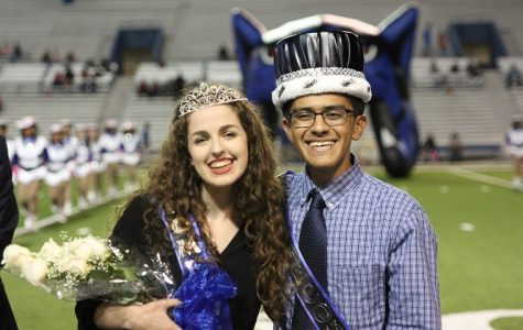 Homecoming court King and Queen 2016
