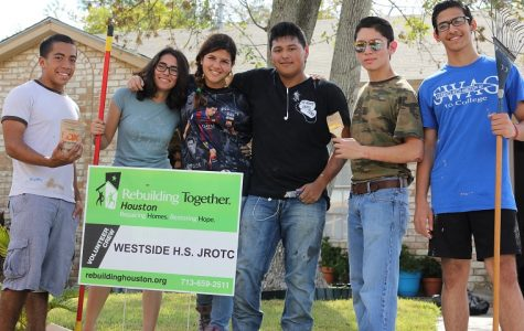 Westside JROTC dedicates their time to restoration project