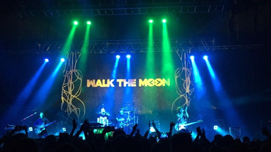 Walk the Moon onstage at Revention Music Center performing