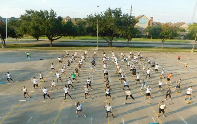 Westside Wolf band at their Thursday practice before Fridays Game . -Oct.29.2015