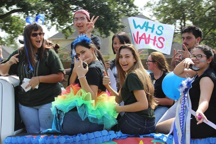 NAHS brings the color to this year's HOCO Parade