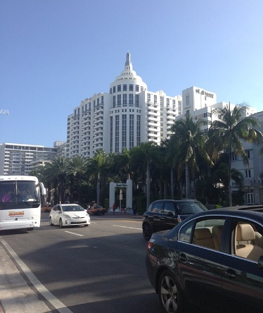 Art Deco design is prevalent in South Beach, Miami, Florida