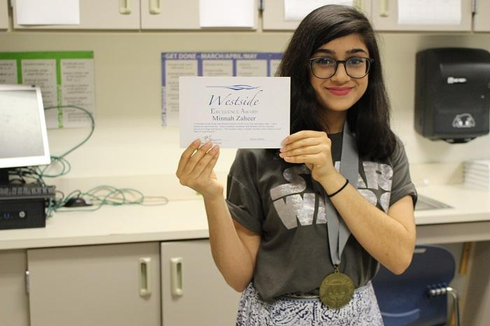 Minnah Zaheer: Howler News First Editor-In-Chief
