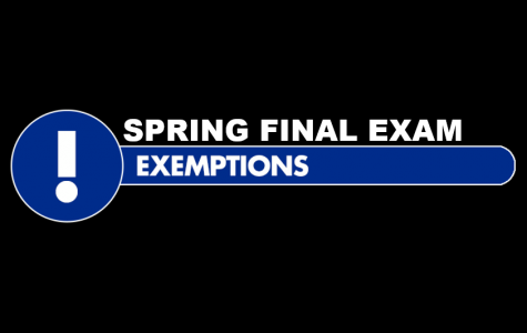 Spring Final Exam Exemptions