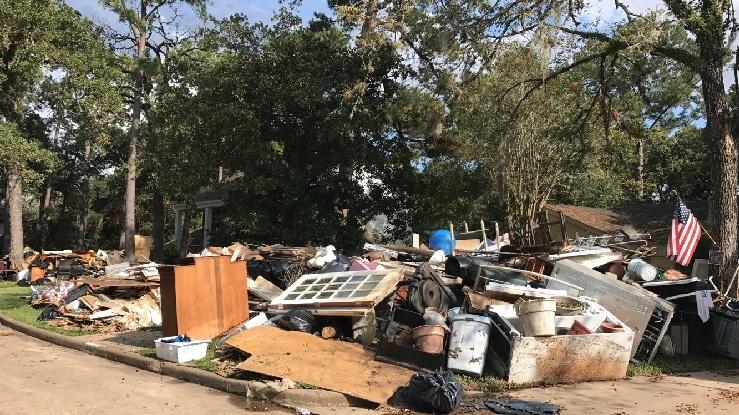 Impacts Hurricane Harvey had on Houston