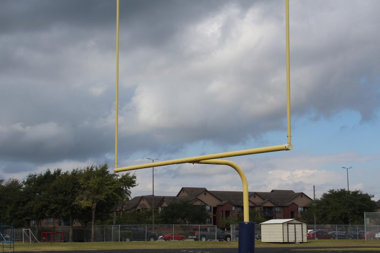Field goal on the Westside football field