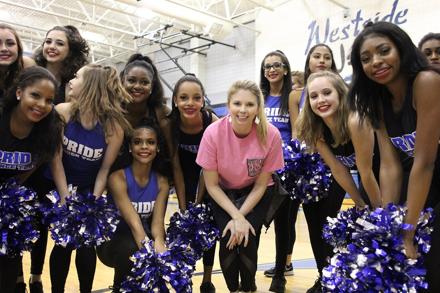 Pride at the Ice the Huskies Pep Rally. September 29, 2017