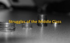The struggle of the middle class