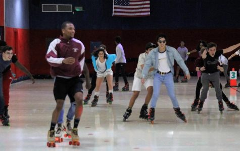 Seniors skate the night away!