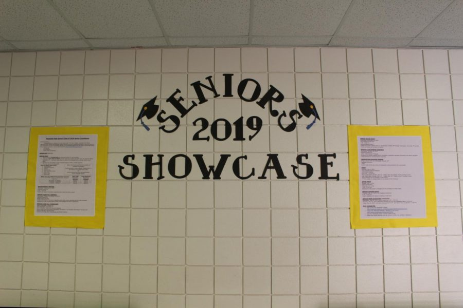 The+Senior+2019+Showcase+in+the+Westside+halls.