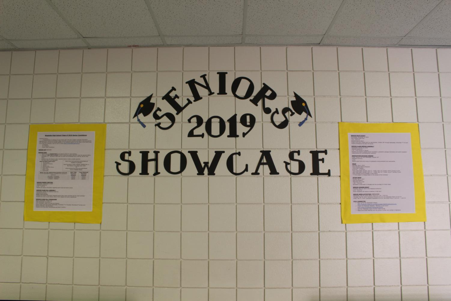 The Senior 2019 Showcase in the Westside halls.