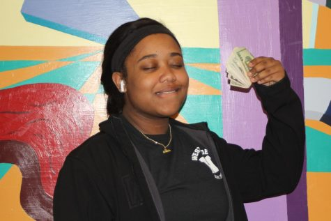 Westside student, Jala Hobbs, has no issues bragging about her wealth. Being able to pay for all that she wants, including college, has relieved her of lots of stress.