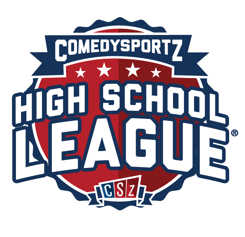 The ComedySportz Logo for High School