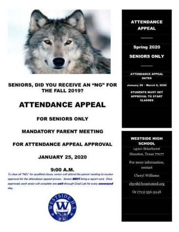 Attendance Appeal at Westside