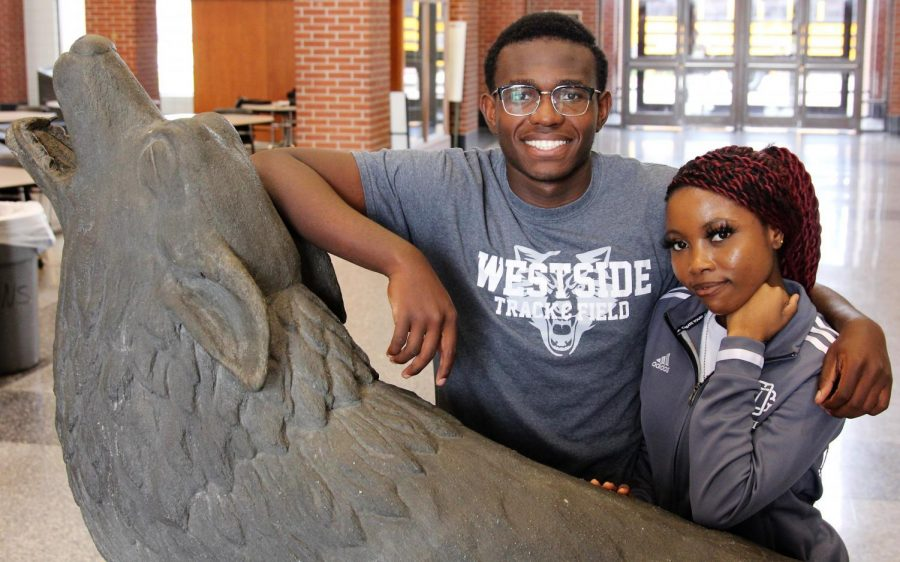 Here they are, the 20th Mr. and Ms. Westside. Representing the Class of 2020, Harris Tomdio and Kauthar Sule Go Wolves!
