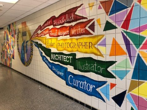 South 1 mural project created by Mr. Gray